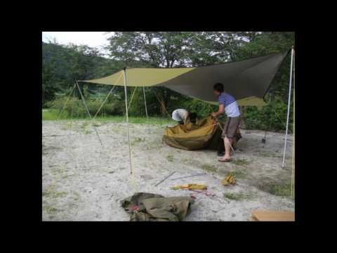 초보캠퍼 커플의 첫 캠핑 도전기