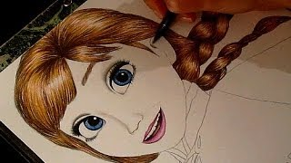 Frozen Drawing Anna