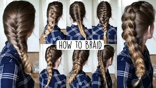 How to Braid Your Own Hair For Beginners | How to Braid | Braidsandstyles12