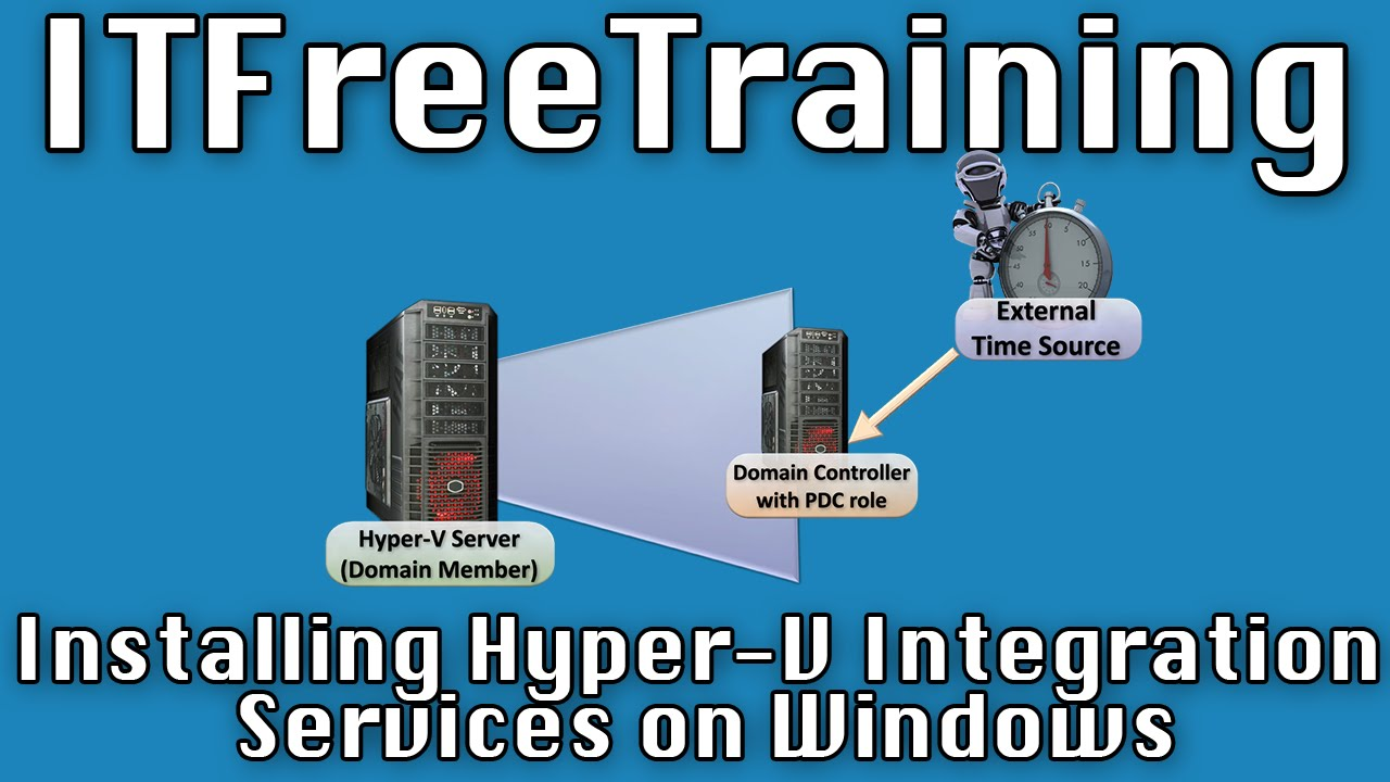 hyper-v integration tools iso download