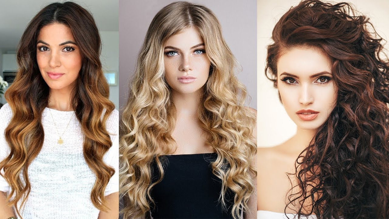 10 Fabulous Curly Hairstyles Ideas Amazing Hair Transformations 2019 Youtube
