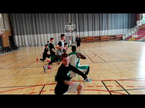 Warm up PLYMOUTH RAIDERS ACADEMY at Morlaix in Kerveguen venue
