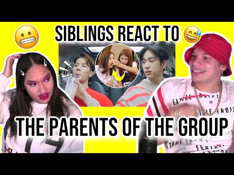 Siblings React To Kpop Idols Who Are Basically The Parents Of Their Groups | REACTION