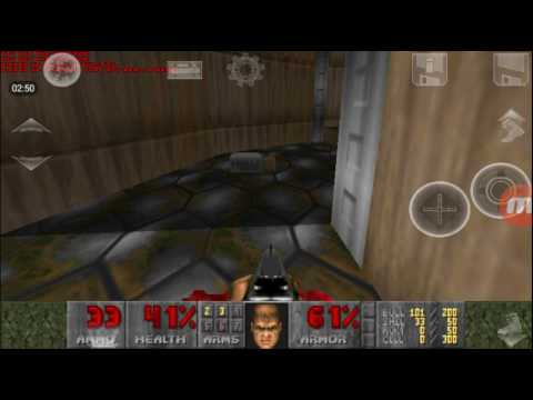 Doom 1 Gameplay On Android Map 01