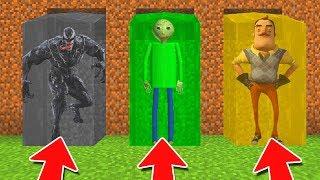 minecraft-pe-do-not-choose-the-wrong-waterfall-venom-baldi-hello-neighbor