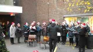 STILLENACHT Roermond 20dec2014 Vocal Group Hidden Voices