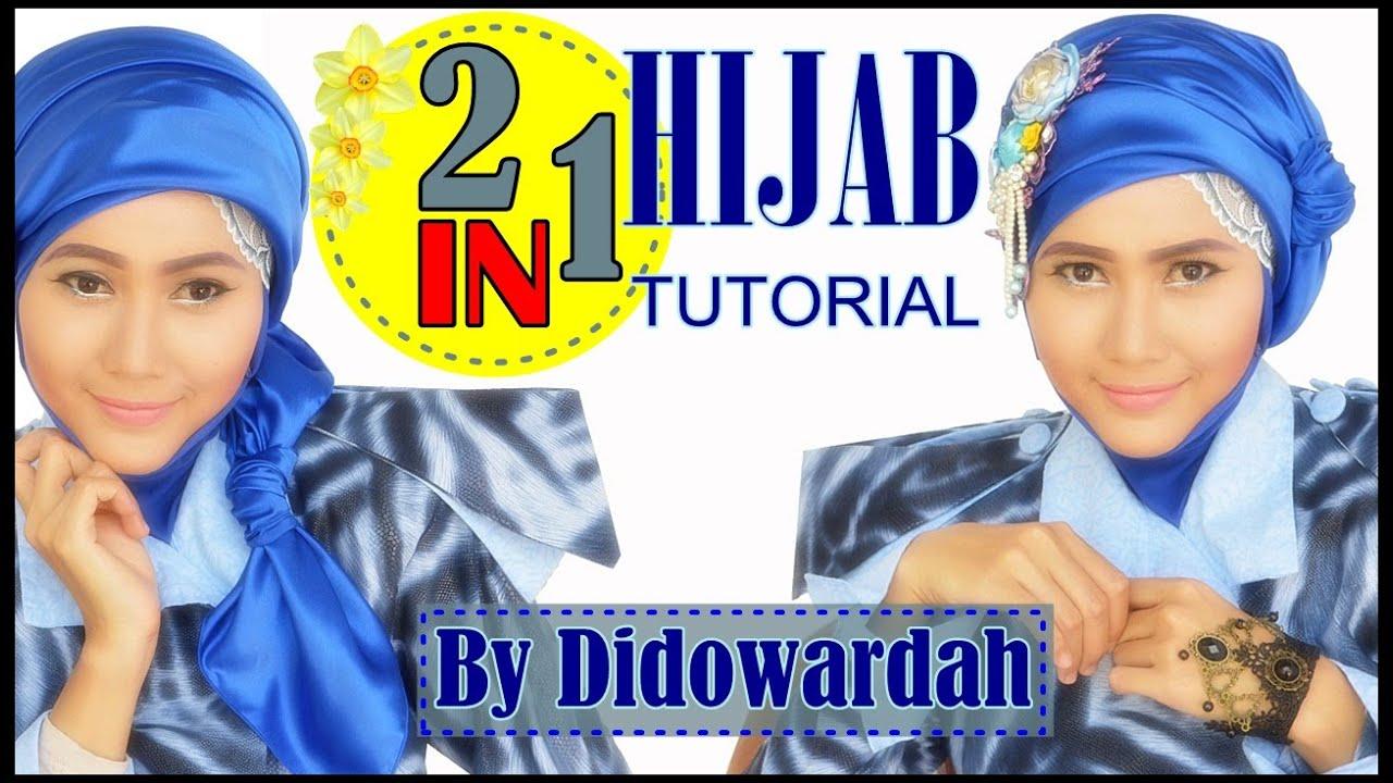 Tutorial Hijab Segi Empat Simple Model Turban Dan Semi Turban 68