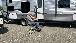 The TravelScoot in an RV