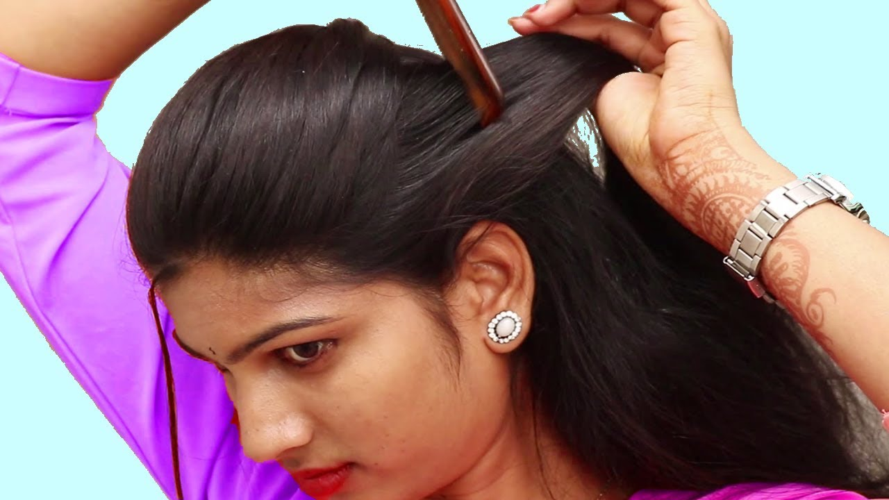 Easy Quick Hairstyles For Party Function Easy Self Hairstyle Ideas Hairstyles 2018