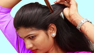 Easy Quick Hairstyles For party/Function ★ Easy Self Hairstyle ideas ★ Hairstyles 2018