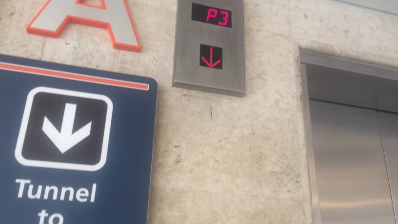 Schindler Elevators At Orlando Airport Parking Garage Terminal A