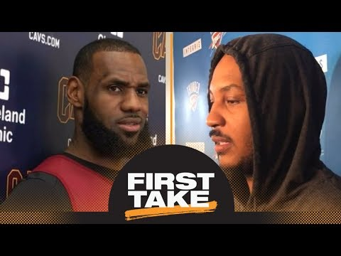 LeBron James' and Carmelo Anthony's criticism could 'bring the whole NCAA down' | First Take | ESPN