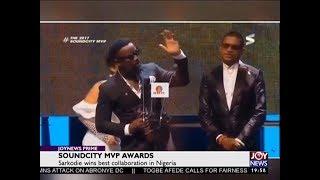 Soundcity MVP Awards - Joy Entertainment News (15-1-18)