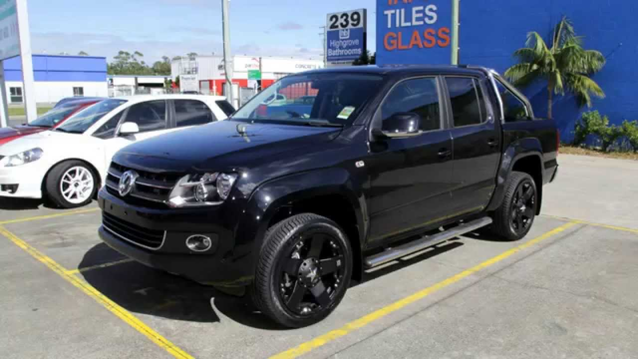 Vw Amarok Modified >> VW Amarok 20 inch custom rims KMC Rockstar Black Wheels - YouTube