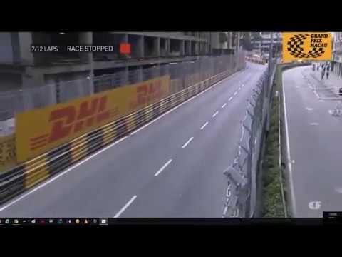 意外系列:澳門GRAND PRIX格蘭披治電單車賽嚴重意外,Daniel Hegarty RIP(轉載)