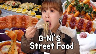 Outdoor Mukbang | Korean street food compilation! More than 30 dishes in 9 spots!