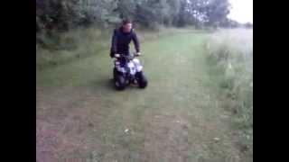 Martin part 1 Quad bike stunts!!!!!