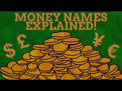 How Currencies Got Their Names
