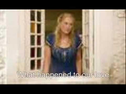 Mamma Mia! Duet - S.O.S WITH LYRICS ON SCREEN!
