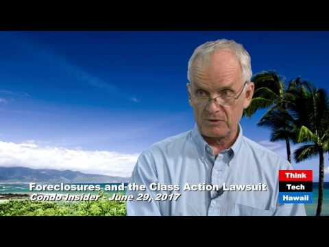 Foreclosures and the Class Action Lawsuit