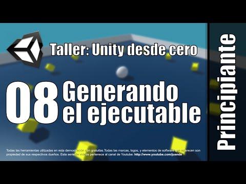 08 - Generando el ejecutable - Taller - Unity desde cero