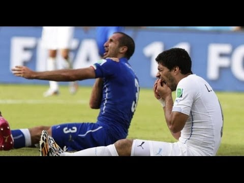 Luis Suarez Biting Giorgio Chiellini Incident - FIFA to investigate