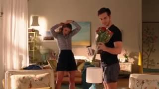 Supergirl 2x14 - Kara & Mon-El - opening scene (kiss scene)