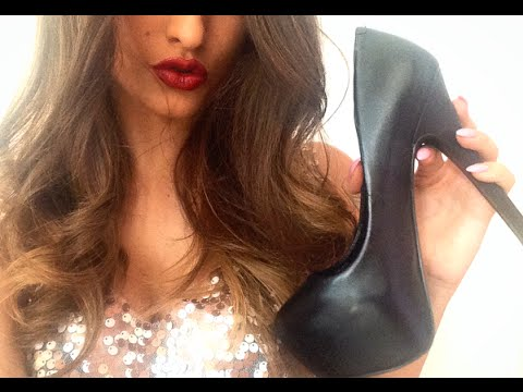 ASMR - High Heels Shoes Collection // Show And Tell - Fabric Sounds - Tapping ♡