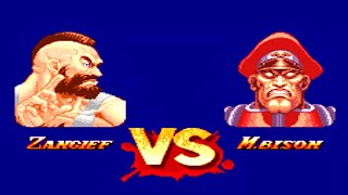 (1993) Super Street Fighter ll:The New Challengers - Zangief [[TAS] Mega drive HD 1080p 60fps