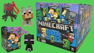 Minecraft Bobble Mobs Blind Boxes, Hangers, Minifigures, Keychain, Chase