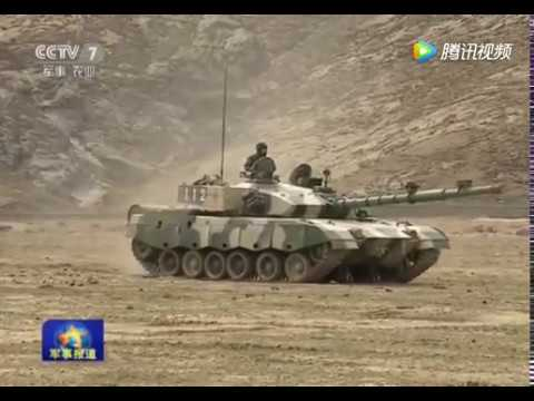 China recently tested new type of light tank on Tibet Plateau
