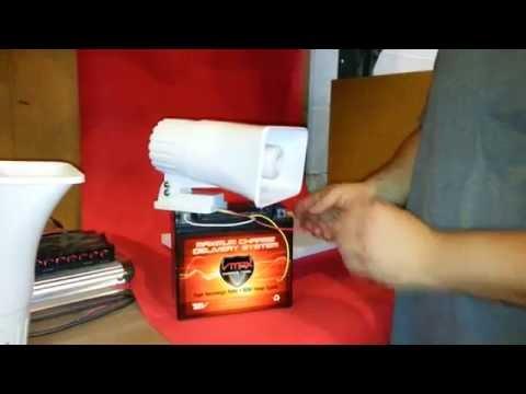 BLASTER 2 Tone Alarm Siren 120dB from bargainshore.com