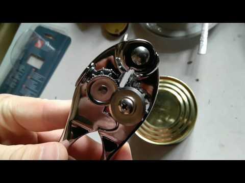 Консервный ключ ( нож ) Vinzer 89303 + открытие консервной банки