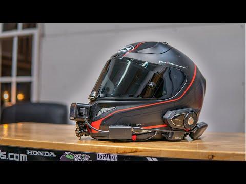 Motovlogging Helmet Setup With Grom Garage   GoPro Session 5