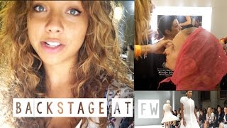 Backstage at Fashion Week! SS15 Thumbnail