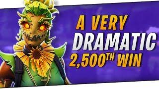 Fortnite - My 2,500th win! *extremely dramatic* ft. Ninja, Basicallyidowrk, & IamWildcat! | DrLupo