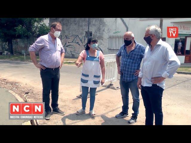CINCO TV - Julio Zamora monitoreó trabajos de mantenimiento en Benavídez, General Pacheco y El Talar