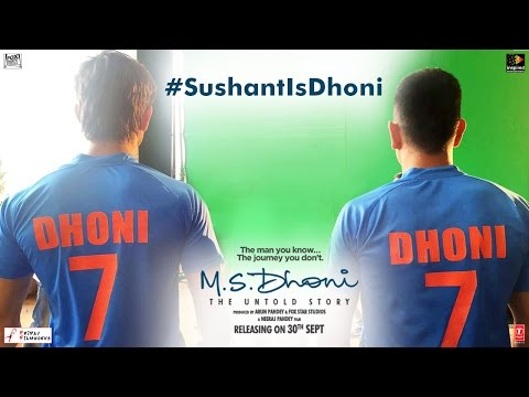 M.S Dhoni - The Untold Story | Feat. M.S. Dhoni And Sushant Singh Rajput