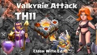 CLASH OF CLANS :: TH9 3 STAR ATTACKS :: QUEEN WALK GOWIVA :: BLITZ24FASHO