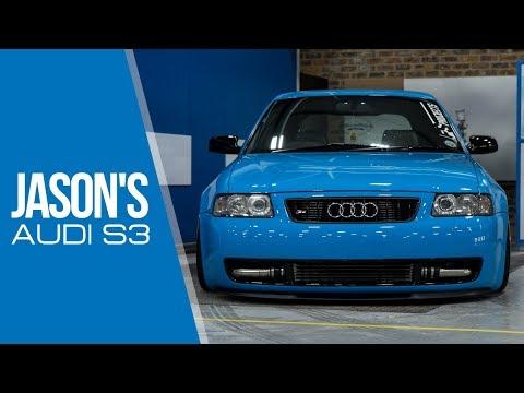 Jason's Audi S3 - 8L   Bagged   Mexico Blue   Ispiri Wheels   Boosted (4K)