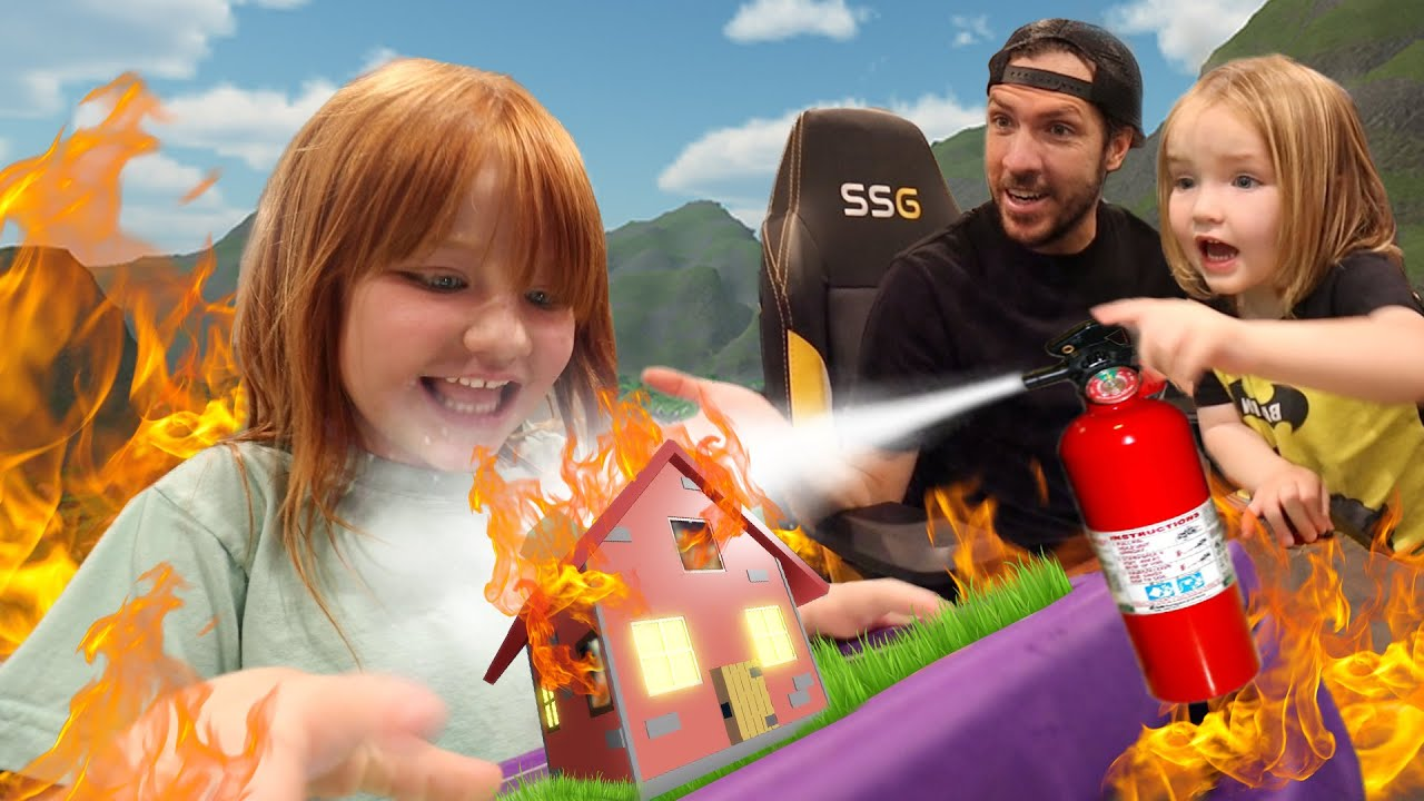 Download HOUSE FiRE ESCAPE!! 🔥 Roblox Family party for Niko's birthday! Fashion Show with new Adley merch