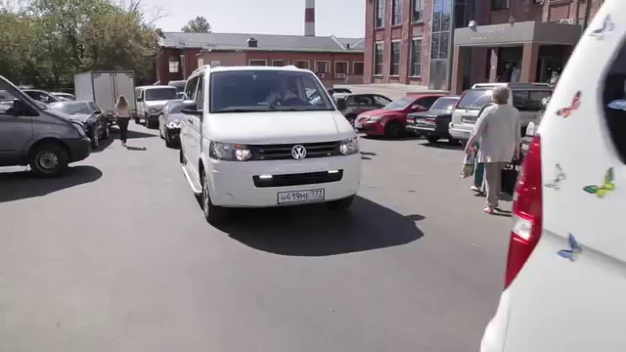 Заказать микроавтобус Volkswagen / Фольксваген - YouTube