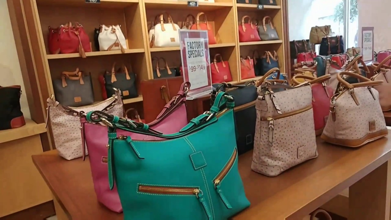 A Quick Visit To Dooney Bourke Las Vegas Premium Outlets