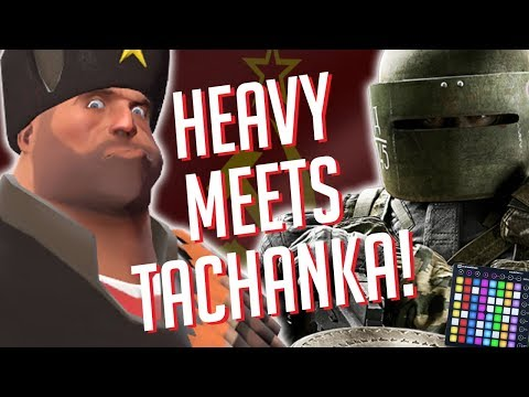 HEAVY MEETS TACHANKA!?! Soundboard Pranks in Rainbow 6 Siege!! *Funny Reactions*