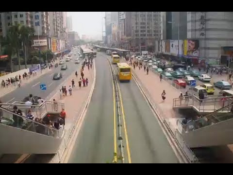 Guangzhou Bus Rapid Transit System_CITIES exhibition