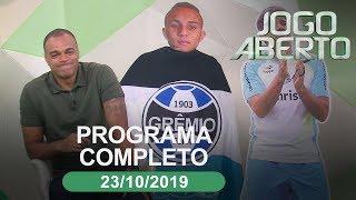 Jogo Aberto - 22/10/2019 - Programa completo