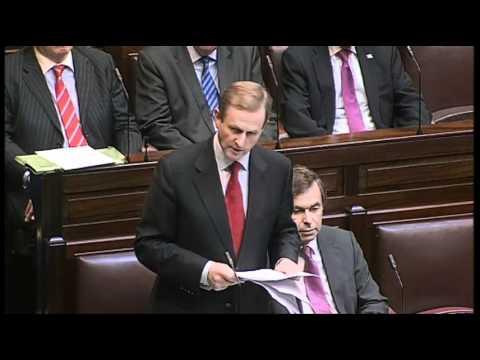 Taoiseach Enda Kenny: Cloyne Report