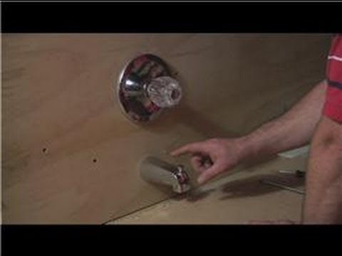 Bathroom Fixture Repair : How To Fix Low Water Pressure On A Bathtub Faucet    YouTube