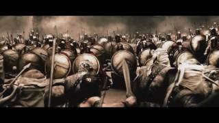 300 спартанцов Клип 300 Спартанцев Расцвет империи Падали но поднимались Клип