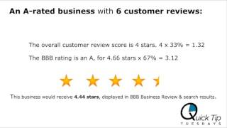 Quick Tip Tuesdays: Build Your Star Rating Online
